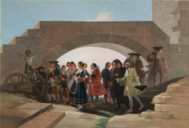 "Francisco de Goya, ""La boda"" (1792)"