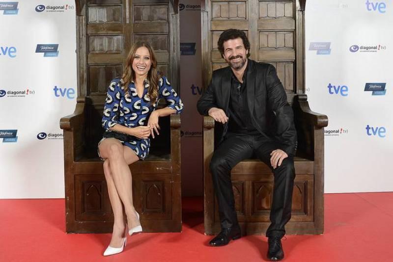 Michelle Jenner y Rodolfo Sancho