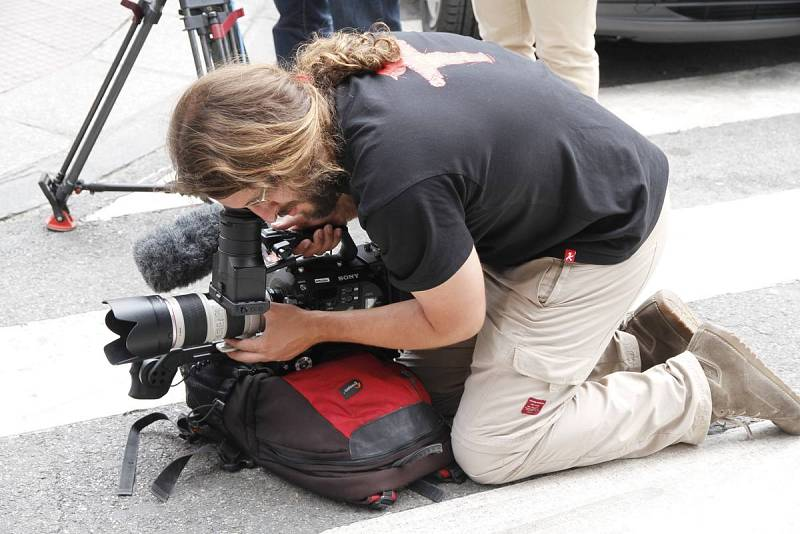 Grabación de reportaje con cámara 4k