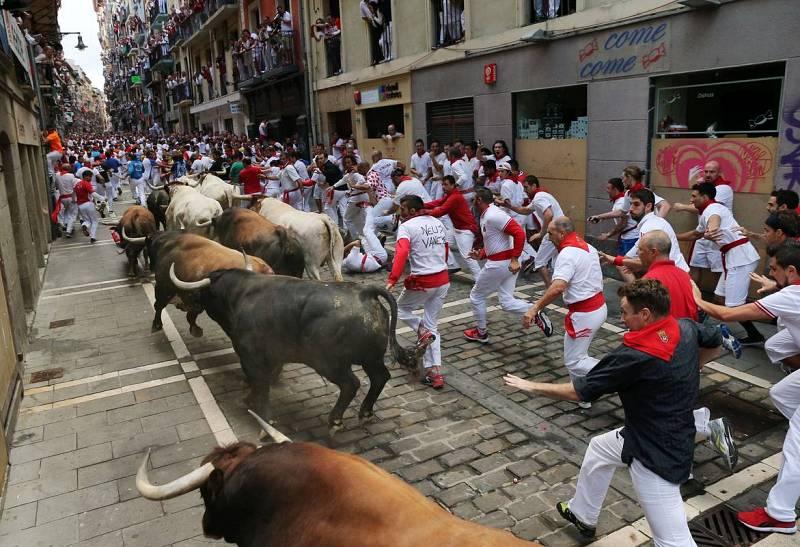 La manada de toros de El Tajo y La Reina se ha estirado