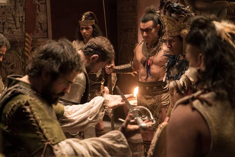 Cortés intenta gobernar junto a Moctezuma