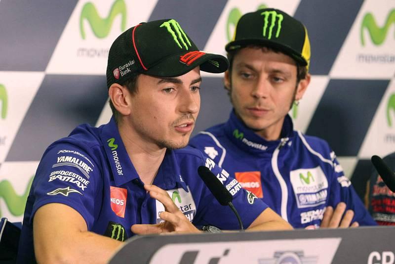 Valentino Rossi ha sido el gran rival de Lorenzo en 2015.