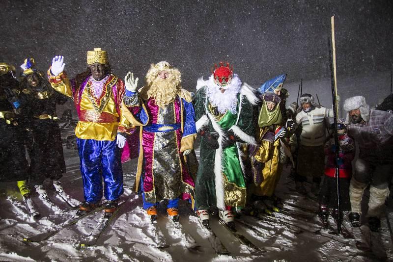 Los Reyes Magos llegan a Sierra Nevada