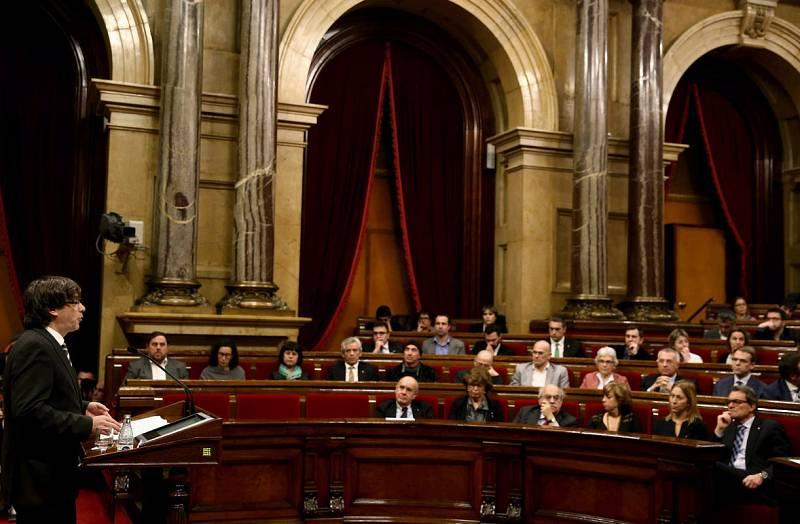 Pleno de investidura de Carles Puigdemont