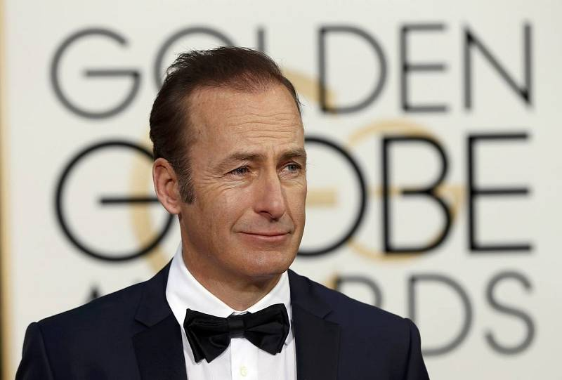 Bob Odenkirk arrives at the 73rd Golden Globe Awards in Beverly Hills