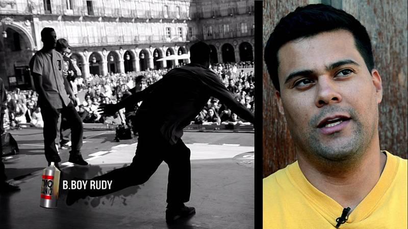 B.boy Rudy, uno de los históricos del breakdance y una de las personas que más ha contribuído a hacer más grande esta cultura