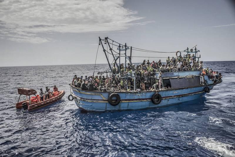 Ruta del Mediterraneo central