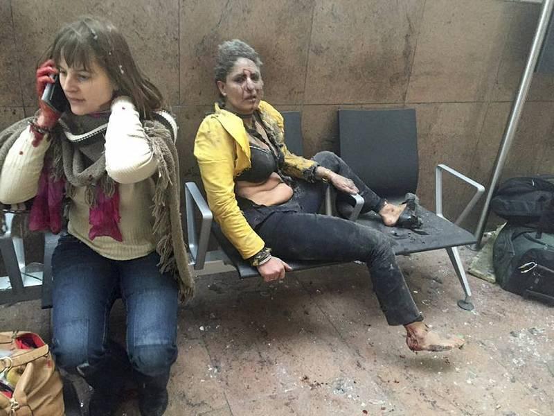 Bruselas sufre un doble atentado terrorista en el aeropuerto internacional de Zaventem y una estación de metro