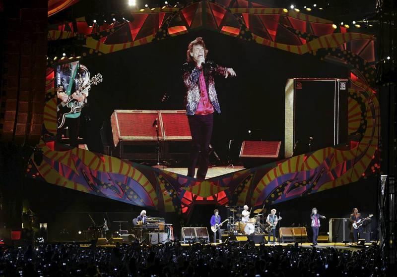 Concierto de los Rolling Stones en Cuba