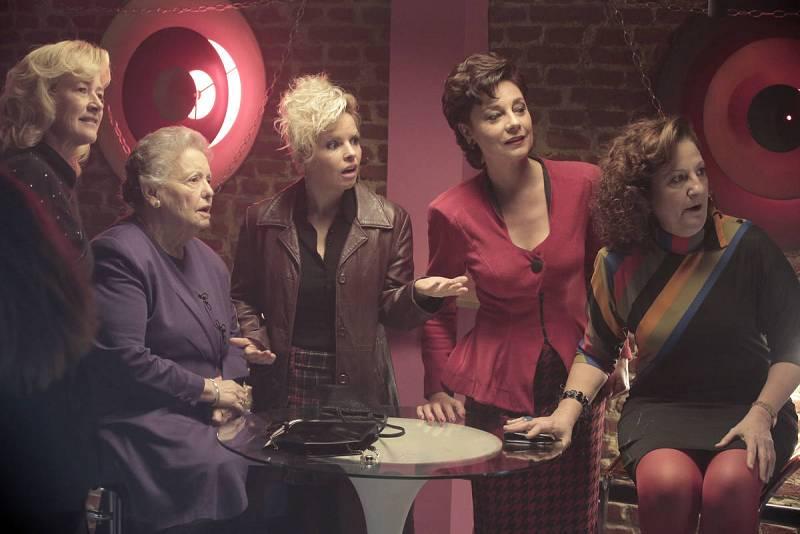 Cuéntame cómo pasó - Merche, Herminia, Pili, Clara y Nieves
