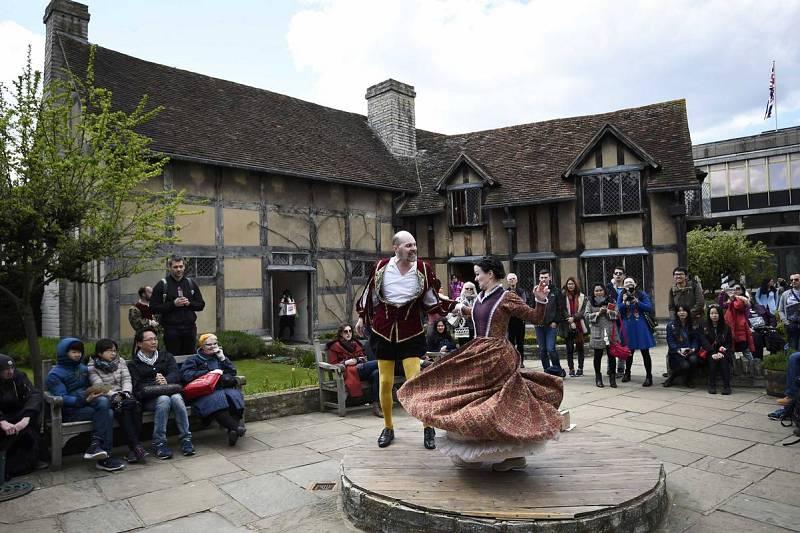 Actos por el cuarto centenario de la muerte de Shakespeare