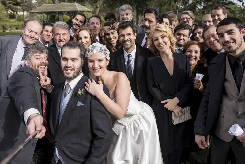 Foto de la boda de El Ministerio del Tiempo