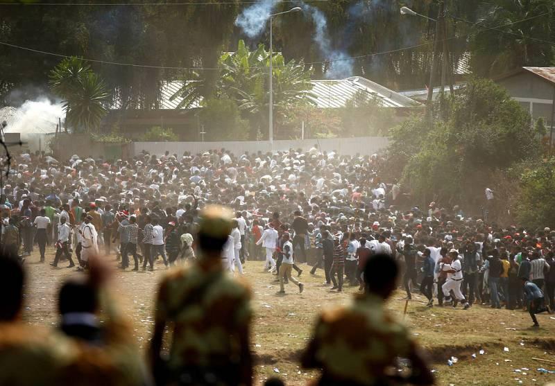 Tragedia durante una manifestación en Etiopía