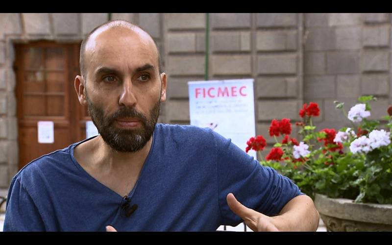 Carlos Baute, director del FICMEC