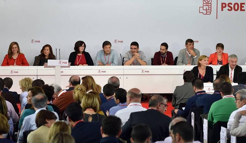 Reunión del Comité Federal del PSOE en Ferraz