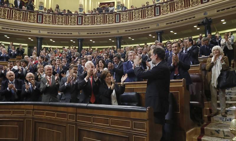 Rajoy, investido presidente