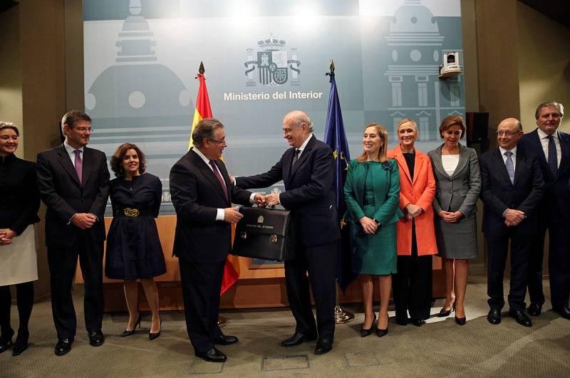 El primer d a del nuevo gobierno de mariano rajoy 29 for Nuevo ministro del interior