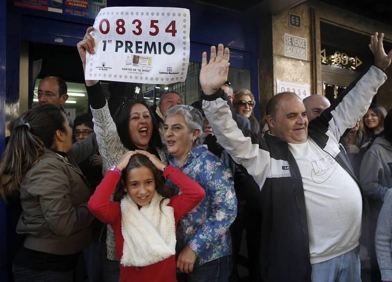 """EL PRIMER PREMIO DE """"EL NIÑO"""" VA A PARAR A TORRENT (VALENCIA)"""
