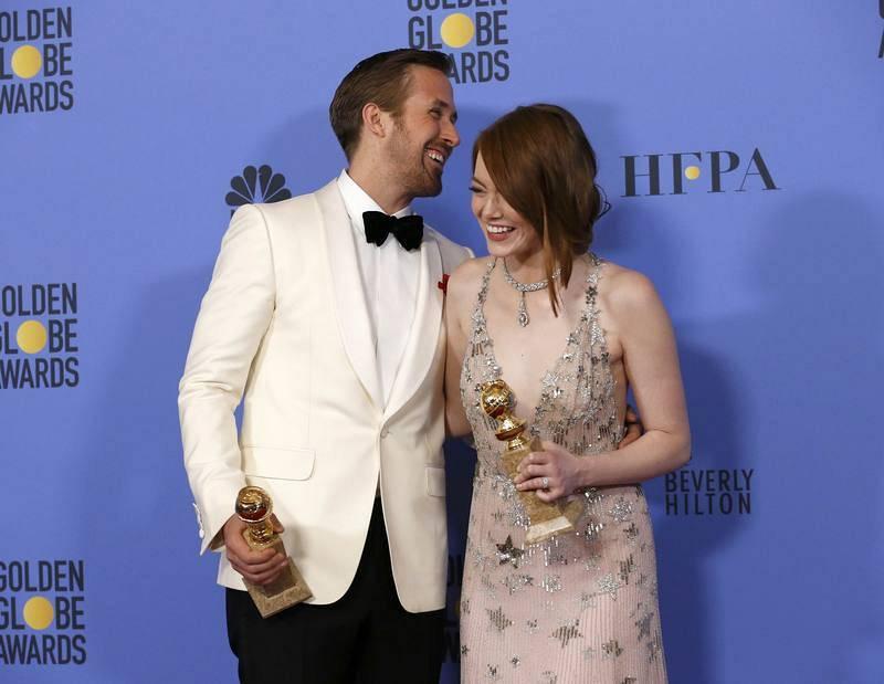 Las mejores imágenes de los Globos de Oro 2017