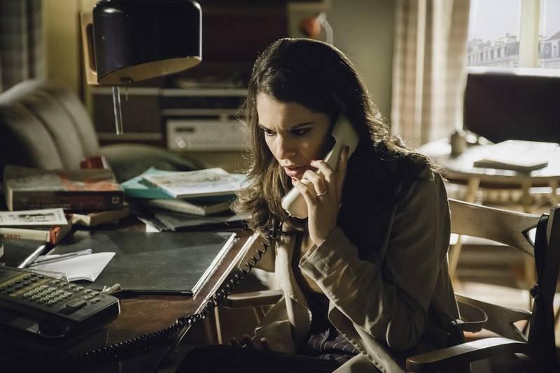 Julia, al teléfono desde Bruselas