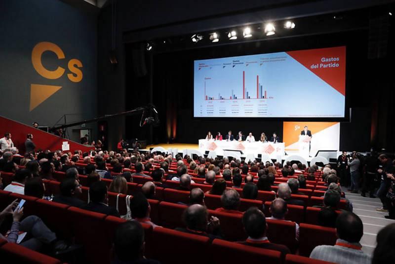 Vista de la IV Asamblea General de Ciudadanos