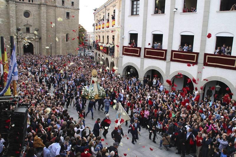 La Carrerita en Villanueva de la Serena el Domingo de Resurrección