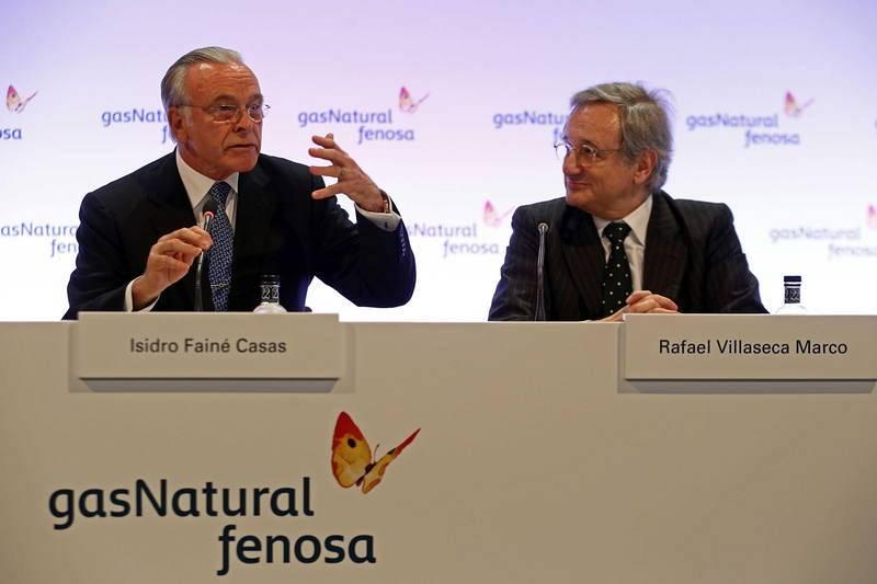 Fainé preside por primera vez la junta general de accionistas de Gas Natural Fenosa