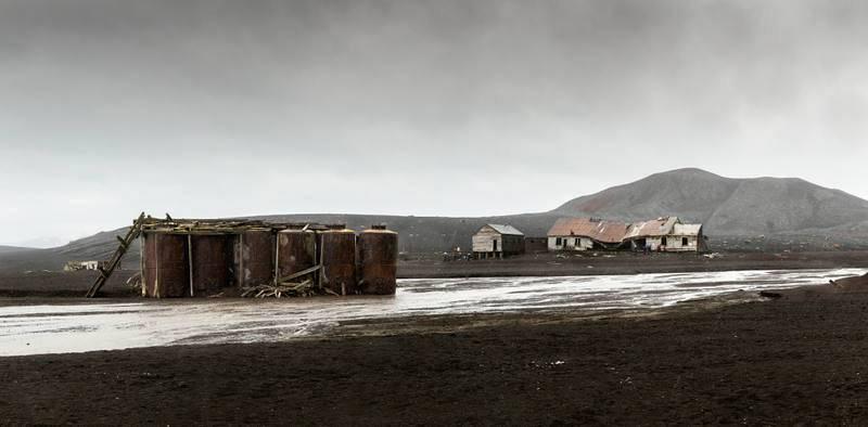 Ruinas en isla Decepción