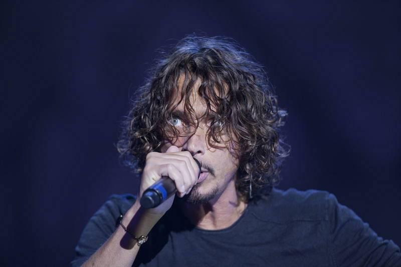 Chris Cornell, en el festival Lollapalooza celebrado en 2014.en el autódromo Interlagos de Sao Paulo.