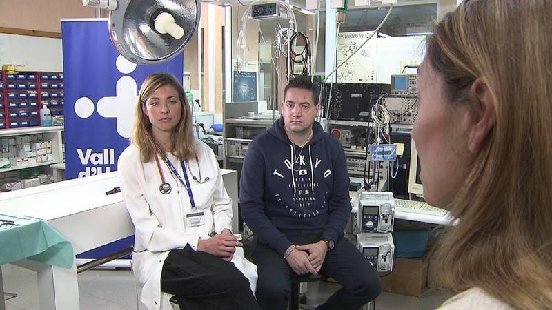 David Miñarro ha estado entre la vida y la muerte por una infección que no respondía a antibióticos