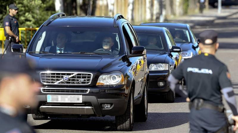 Rajoy llega a la sede de la Audiencia Nacional por el caso Gürtel