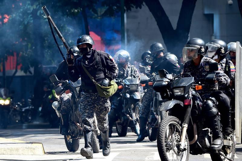 Tensión en Caracas ante la sesión de la Asamblea Nacional Constituyente