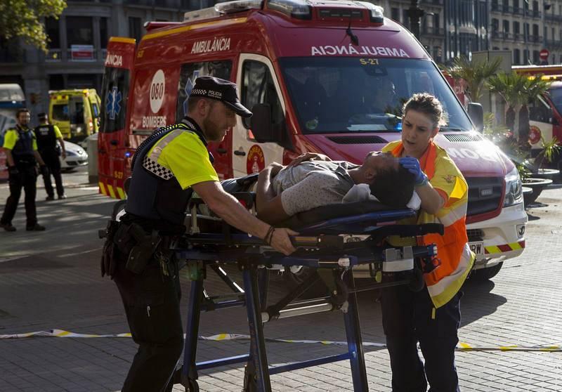Evacuación de heridos