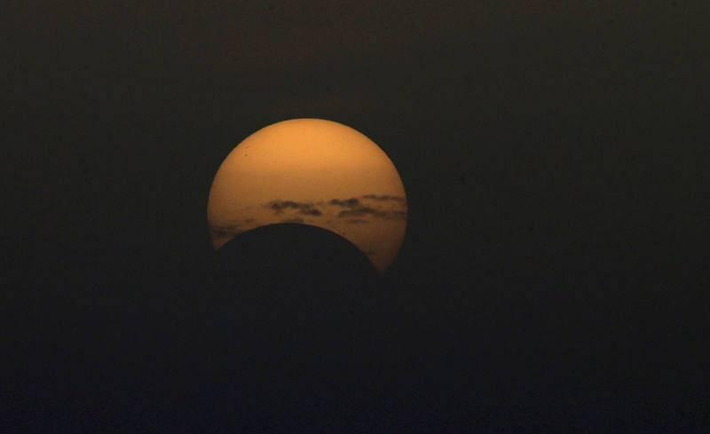 El eclipse solar en Gran Canaria