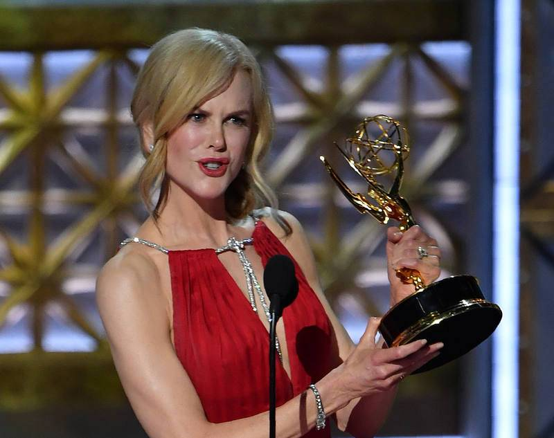 Nicole Kidman, mejor actriz de reparto por 'Big Little Lies'