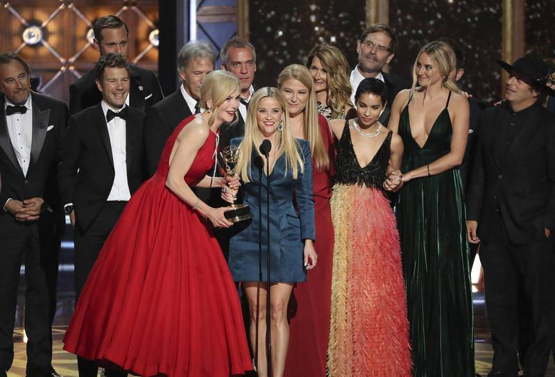 'Big Little Lies', gran triunfadora de la noche