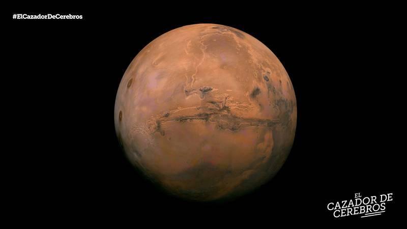 Tenemos la mirada puesta en Marte