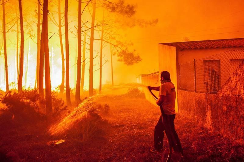 Incendio en Tondela
