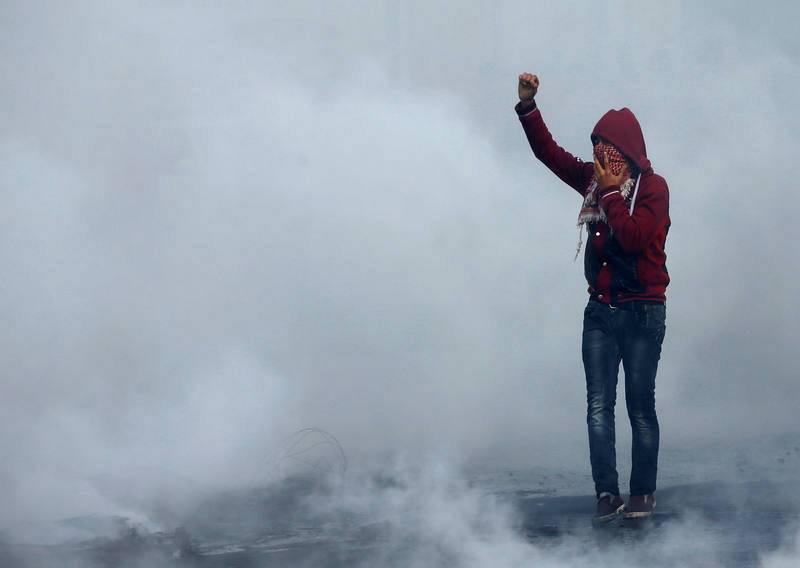 Protestas palestinas contra la decisión de Trump sobre Jerusalén