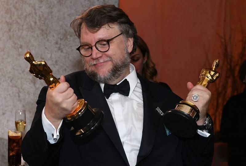 El director mexicano Guillerno del Toro, triunfador de los Oscar 2018