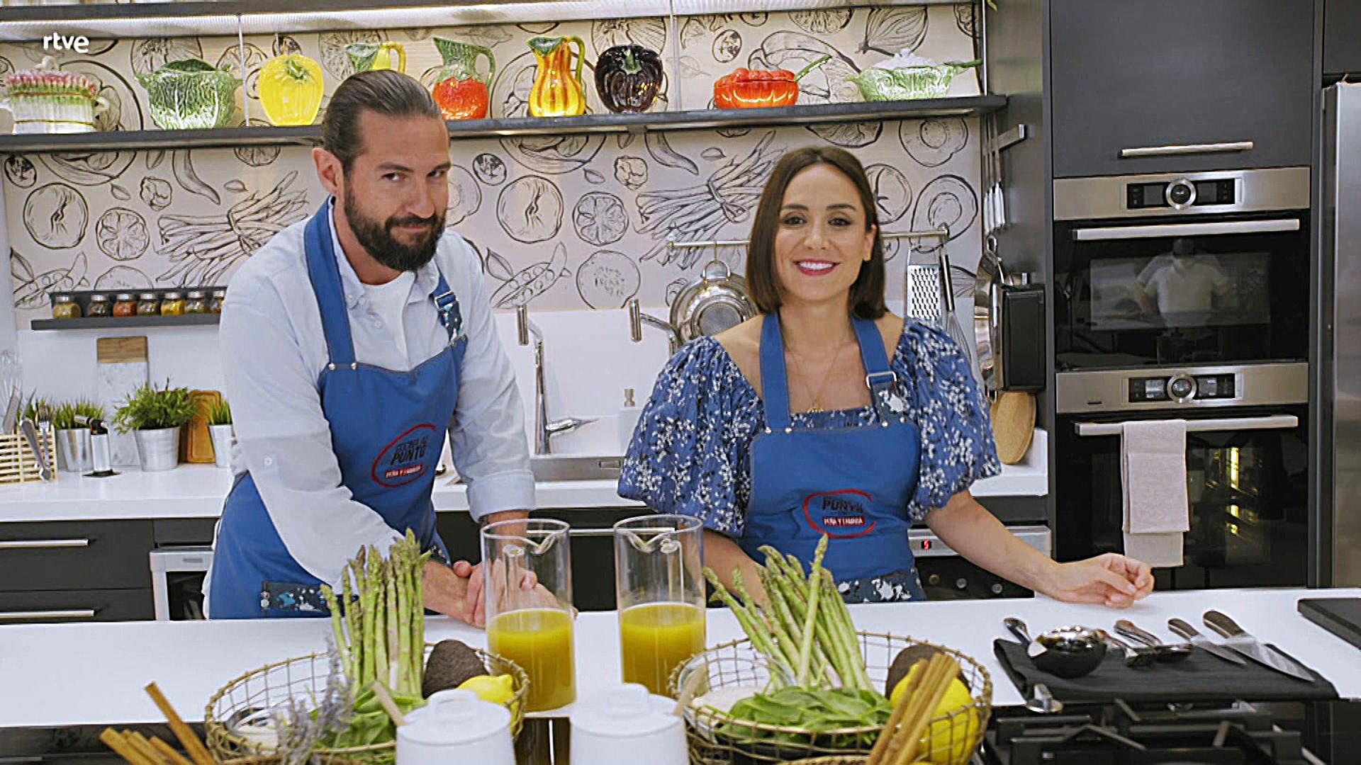 La 1 estrena 'Cocina al punto con Peña y Tamara'