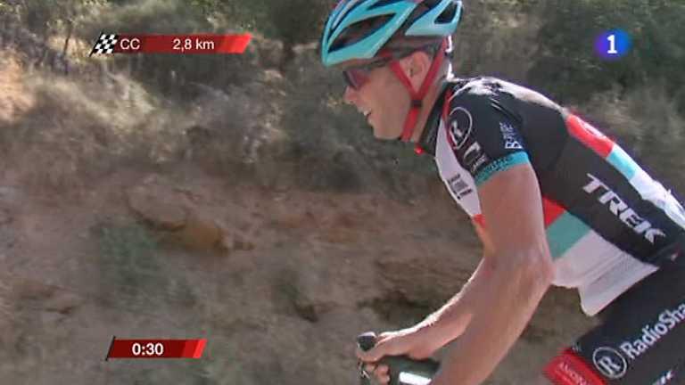 Vuelta ciclista a España 2013 - 10ª etapa: Torredelcampo - Güejar Sierra. Alto Hazallanas