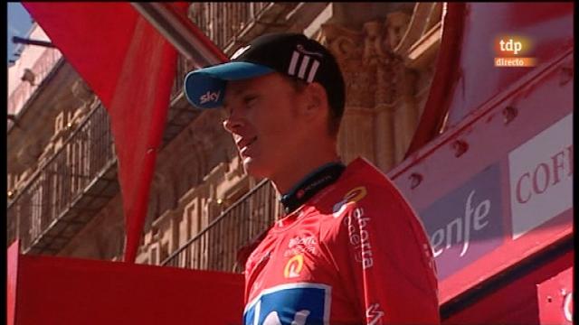 Vuelta a España. Etapa 10: Salamanca - Salamanca - 29/08/11. Segunda parte