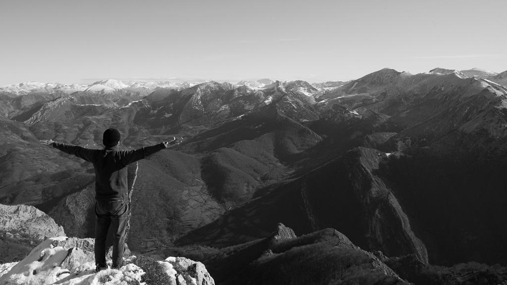 '100 días en soledad': el hombre a solas con la naturaleza