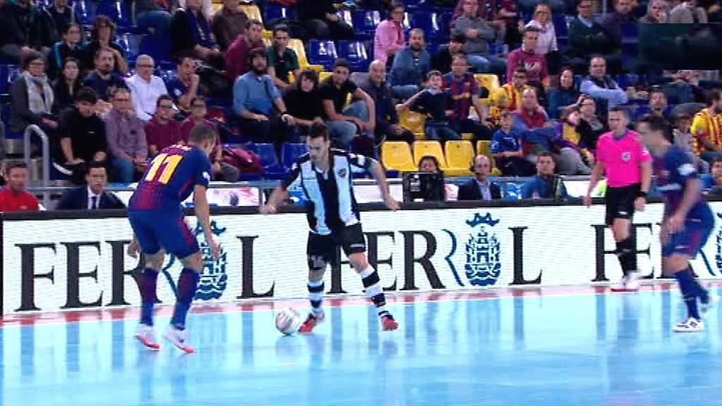 Fútbol Sala - Liga Nacional. 11ª jornada: FC Barcelona Lassa - Levante UD FS