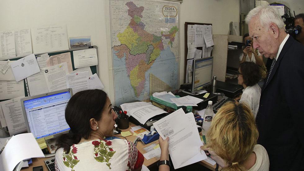 Margallo confirma que hay 116 españoles en paradero desconocido en Nepal