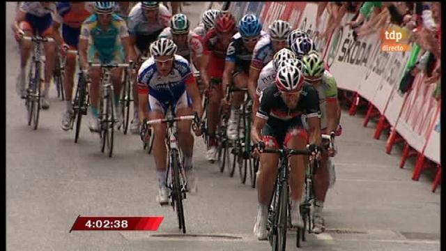 Vuelta a España. Etapa 12: Ponteareas - Pontevedra desde Pontevedra - 01/09/11. Segunda parte