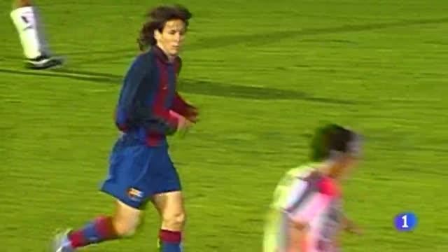 13 años después, Leo Messi en Montilivi