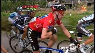 Vuelta a España. Etapa 13: Sarria - Ponferrada - 02/09/11. Primera parte