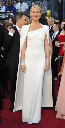 Gwyneth Paltrow, la mejor vestida de los Oscar 2012
